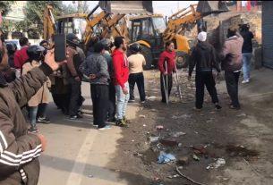 attack on jalandhar municipal corporation team