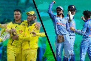AUS VS INDIA