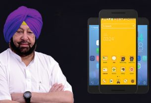 Captain Amrinder Singh Smart Connect Free Smartphone