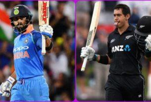 india vs newzealand 1st odi 2019