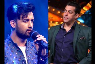 Salman Khan and Atif Aslam
