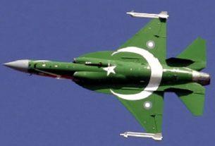 pakistan jet enters in indian borders