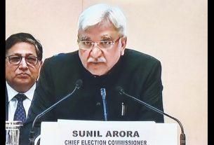 Sunil Arora Chief Election Commissioner