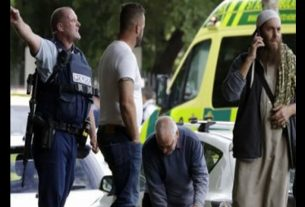 shoot out at New Zealand mosque
