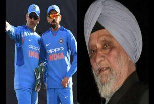 Bishan Singh Bedi on Kohli and Dhoni