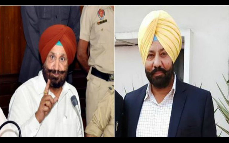 jail minister sukhjinder randhawa and parmraj singh umranangal