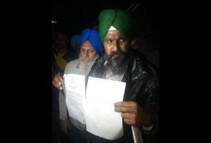 protested farmers get notice from court