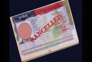 usa visa cancelled