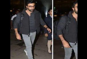 Ranbir Kapoor at Airport
