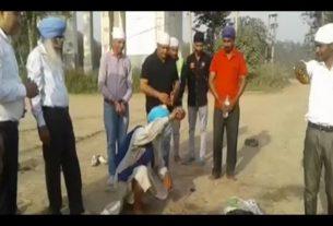kartarpur corridor work starts