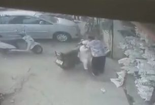 ludhiana old man beaten by a man
