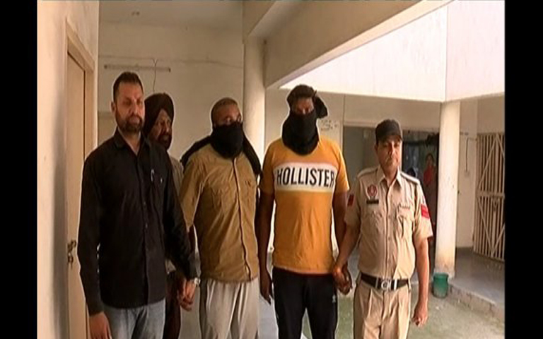 sarpanch son arrested with 1 kg herion