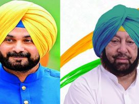Captain vs Sidhu