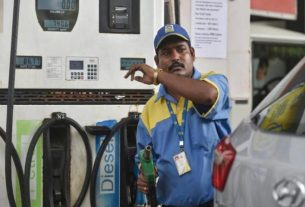 fuel prices petrol pump