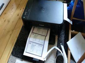 german girl printed money at home