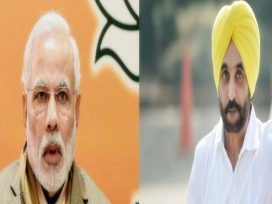 Modi And Bhagwant Mann