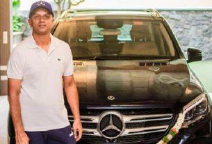 rahul dravid Mercedes Benz GLE
