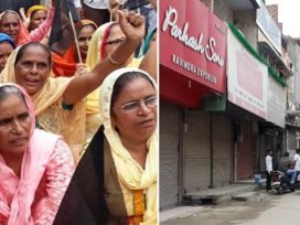 ravidas temple issue punjab closed
