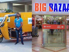 Bigg Bazaar and Flipkart will Home Deliver Grocery Item