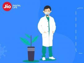 Reliance JIO launch Tool to Check Corona Symptoms