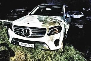 Mankirat Aulakh Mercedez Seized by Chandigarh Police