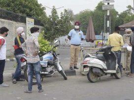 Police had challaned 200 people on weekend lockdown