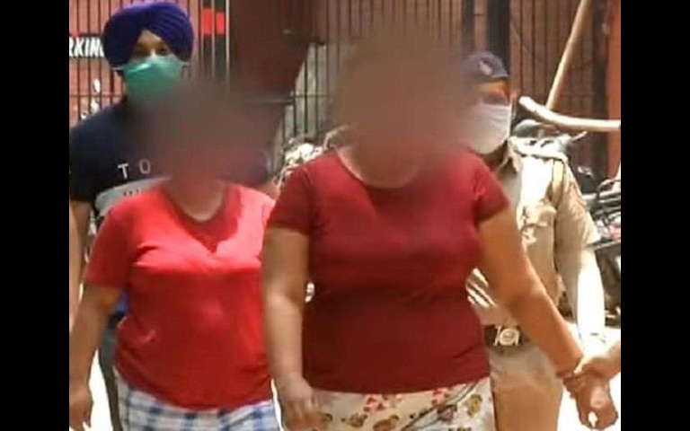Women Gang who illegaly took over the NRI's Houses