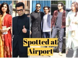 bollywood celebs spotted at airport
