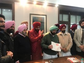 captain amrinder singh released calendar for kartarpur