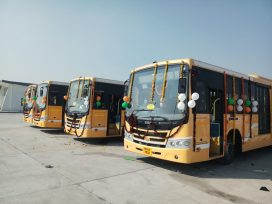 BRTC Metro Bus started in Amritsar