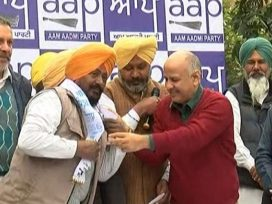 Principal daljit singh bhagta joins aap in chandigarh