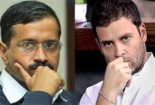rahul gandhi and kejriwal