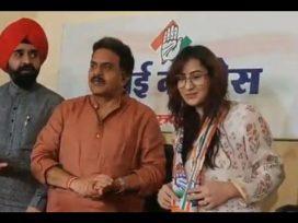 shilpa shinde join congress