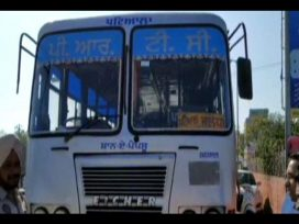 accident outside patiala bus stand