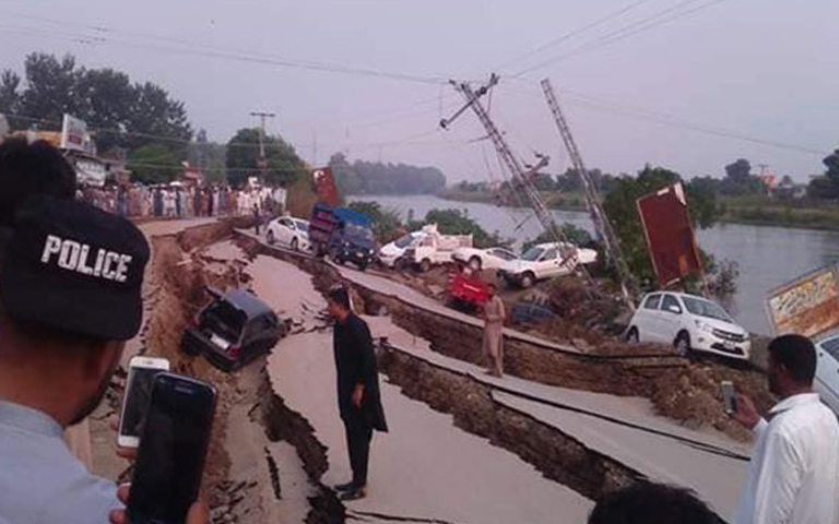 earthquake in pakistan 24 september 2019