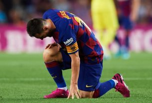 barcelona wins but messi injured